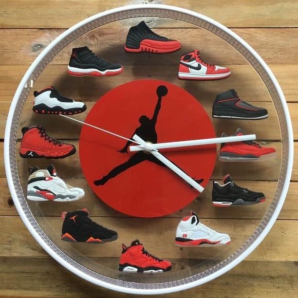 Jordan Shoes Air Wall Clock Collections Poshmark